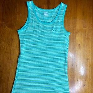 Vintage Nike Blue Green Tank Top Size M